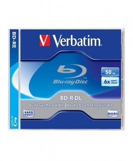 Verbatim Blu-Ray (BDR DL) 50GB 6x [Jewel]